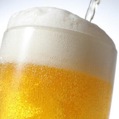 ラーメン、餃子のお供に先ずは一杯!「内田家」から生ビールを特別価格でご提供